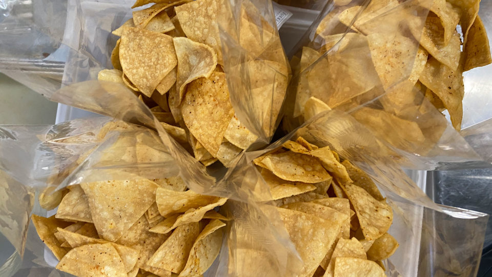 Forklift Provisions - Packaged Chips